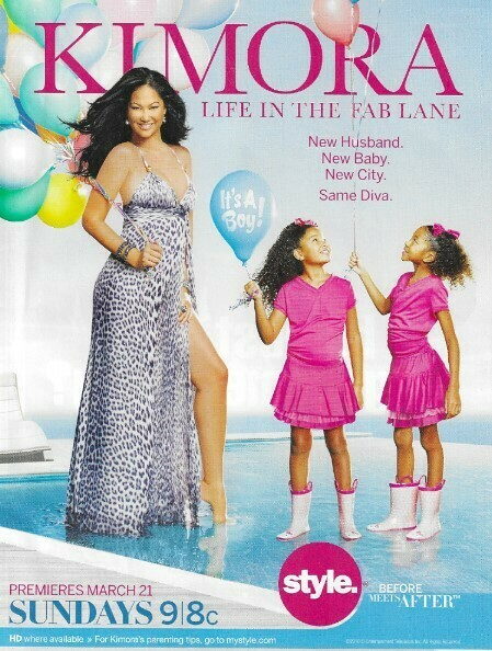 Simmons, Kimora Lee / Life In the Fab Lane | Magazine Ad | March 2010