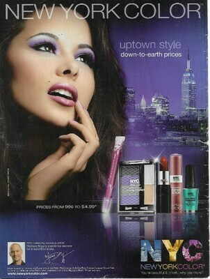 New York Color / Uptown Style | Magazine Ad | March 2010