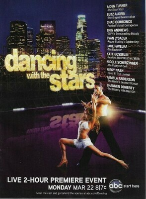 Dancing With the Stars / Live 2-Hour Premiere Event | Magazine Ad | March 2010