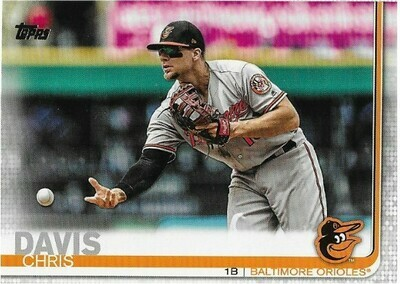 Davis, Chris / Baltimore Orioles | Topps #542 | Baseball Trading Card | 2019