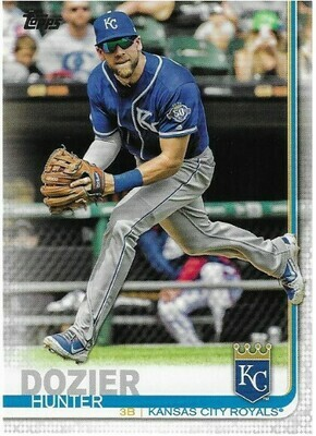 Dozier, Hunter / Kansas City Royals | Topps #690 | Baseball Trading Card | 2019