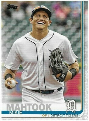 Mahtook, Mikie / Detroit Tigers | Topps #477 | Baseball Trading Card | 2019
