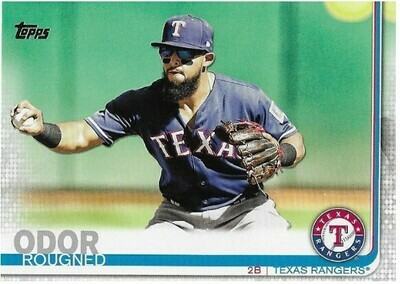 Odor, Rougned / Texas Rangers | Topps #511 | Baseball Trading Card | 2019