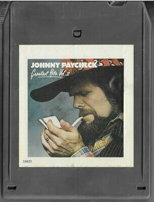 Paycheck, Johnny / Greatest Hits Vol. II | Epic EA-35623 | Light Black Shell | 8-Track Tape | 1978