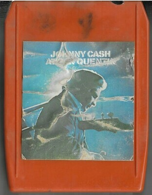 Cash, Johnny / At San Quentin | Columbia 18 10 0674 | Orange-Red Shell | 8-Track Tape | June 1969