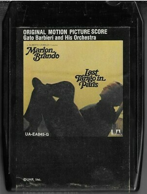 Barbieri, Gato / Last Tango in Paris | United Artists UA-EA045-G | Black Shell | 8-Track Tape | 1973 | Soundtrack