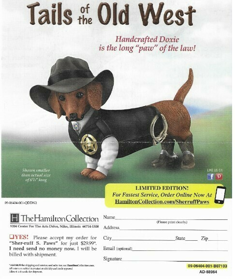 Hamilton Collection, The / Tails of the Old West   Magazine Ad   2019