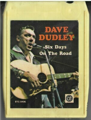 Dudley, Dave / Six Days On the Road | Altone 8TC-0406 | Pale Yellow Shell | 8-Track Tape