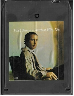Simon, Paul / Greatest Hits, Etc. | Columbia JCA-35032 | Light Black Shell | 8-Track Tape | November 1977