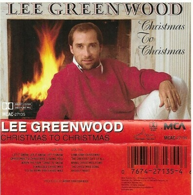 Greenwood, Lee / Christmas To Christmas | MCA MCAC-5623 | Cassette | September 1985