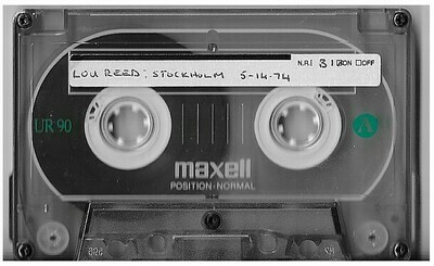 Reed, Lou / Stockholm, Sweden + London, UK | Live Cassette | May 1974 and March 1987