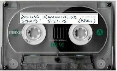 Rolling Stones, The / Knebworth, UK | Live Cassette | August 1976