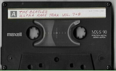 Beatles, The / Ultra Rare Trax - Vol. 7 + 8 | Live + Rare Cassette | 1963-1968