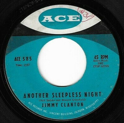 Clanton, Jimmy / Another Sleepless Night | Ace 585 | Single, 7