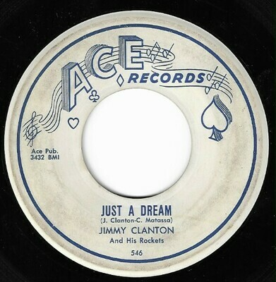 Clanton, Jimmy / Just a Dream | Ace 546 | Single, 7