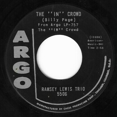 Lewis, Ramsey (Trio) / The