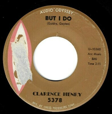 Henry, Clarence / But I Do | Argo 5378 | Single, 7