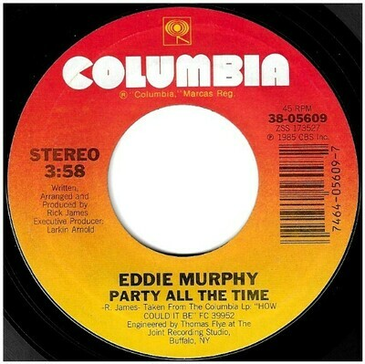 Murphy, Eddie / Party All the Time | Columbia 38-05609 | Single, 7