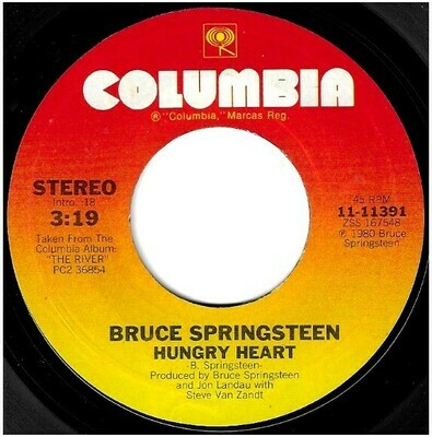 Springsteen, Bruce / Hungry Heart | Columbia 11-11391 | Single, 7
