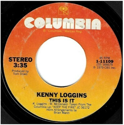 Loggins, Kenny / This Is It | Columbia 1-11109 | Single, 7