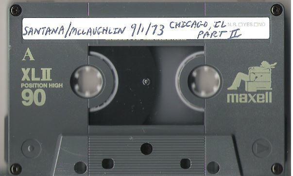 Santana / Chicago, IL (1973) Pt. 2 / Chicago Amphitheater (Live + Rare Cassette)