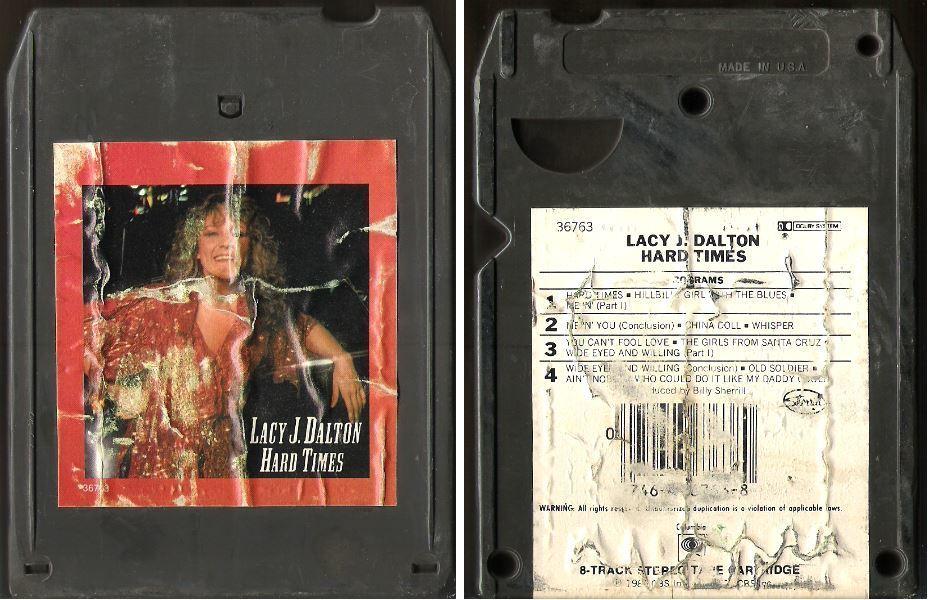 Dalton, Lacy J. / Hard Times (1980) / Columbia JCA-36763 (8-Track Tape)