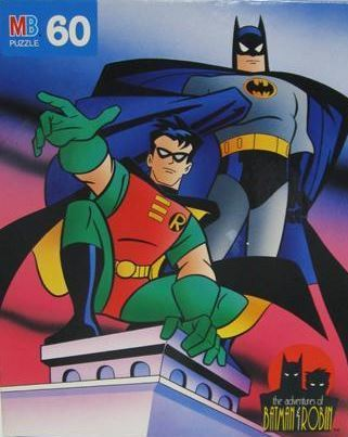 Batman / Batman and Robin (1995) / Milton Bradley (Puzzle)