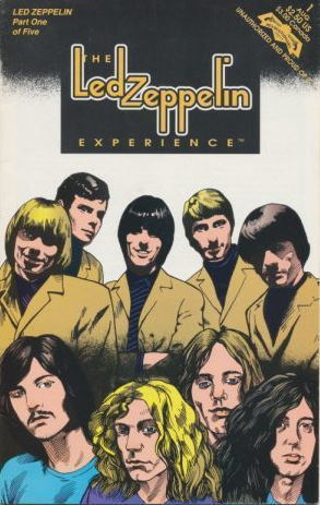 Led Zeppelin / The Led Zeppelin Experience - Part 1 (1992) / Revolutionary Comics (Comic Book)