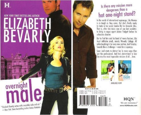 Bevarly, Elizabeth / Overnight Male (2008) / HQN (Book)