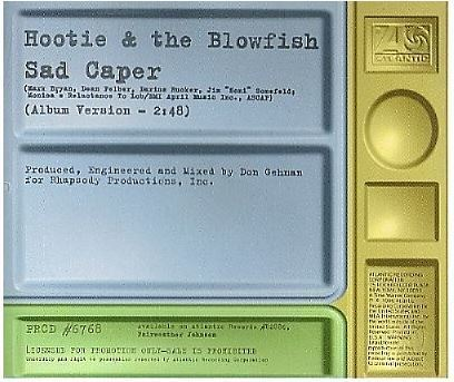 Hootie + The Blowfish / Sad Caper (1996) / Atlantic PRCD-6768 (CD Single, Promo)
