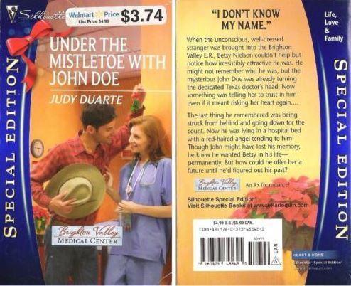 Duarte, Judy / Under the Mistletoe with John Doe (2010) / Silhouette Books 2080 (Paperback Book)