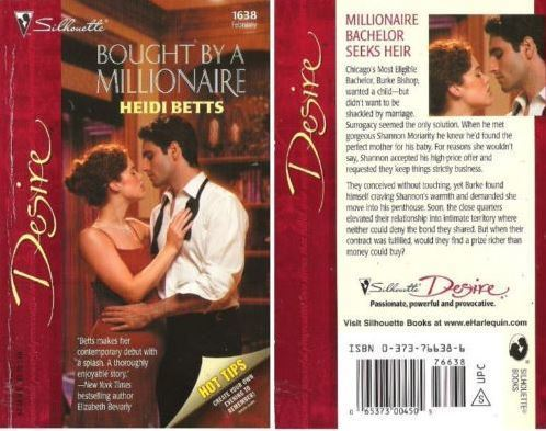 Betts, Heidi / Bought By a Millionaire (2005) / Silhouette Books (Paperback)