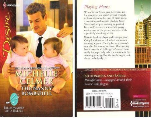 Celmer, Michelle / The Nanny Bombshell (2012) / Silhouette Books (Paperback)