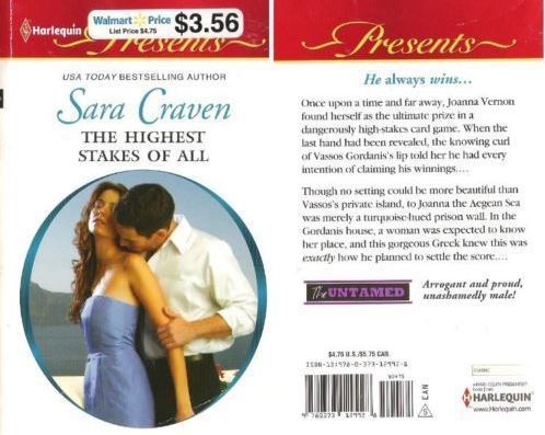 Craven, Sara / The Highest Stakes of All (2011) / Harlequin Books (Paperback)