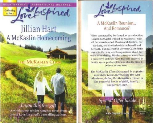 Hart, Jillian / A McKaslin Homecoming (2008) / Steeple Hill Books (Paperback)