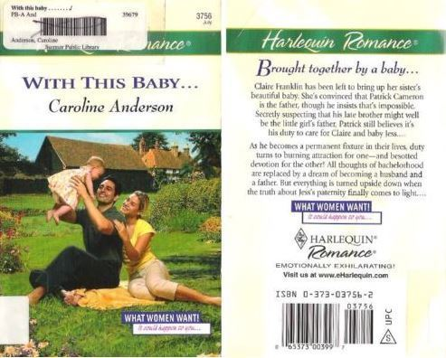 Anderson, Caroline / With This Baby... (2003) / Harlequin Romance Books (Paperback)