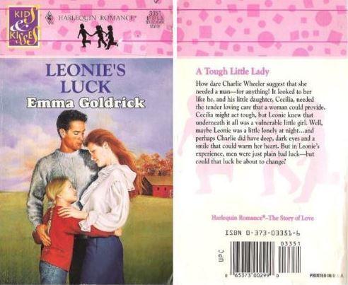 Goldrick, Emma / Leonie's Luck (1995) / Harlequin Books (Paperback)