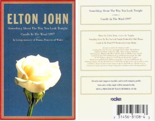 John, Elton / Candle in the Wind 1997 (1997) / Rocket 31456 8108-4 (Cassette Single)