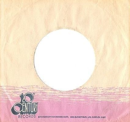 "20th Century / White, Dark Blue, Pink (Record Company Sleeve, 7"")"