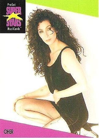 Cher / ProSet SuperStars MusiCards #39 | Music Trading Card (1991)