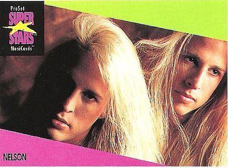 Nelson / ProSet SuperStars MusiCards (1991) / Card #84 (Music Card)