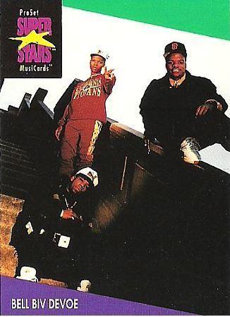 Bell Biv DeVoe / ProSet SuperStars MusiCards #109 | Music Trading Card (1991)