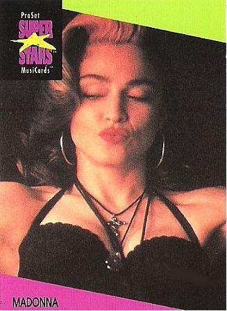 Madonna / ProSet SuperStars MusiCards #65 | Music Trading Card (1991)
