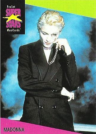 Madonna / ProSet SuperStars MusiCards #67 | Music Trading Card (1991)