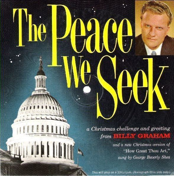 Graham, Billy (+ George Beverly Shea) / The Peace We Seek (1961) / Manna Music (Flexi-Disc)