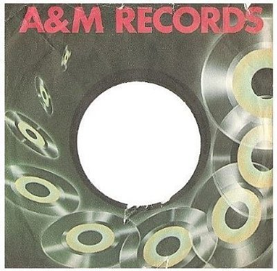 A + M / Flying Records Artwork, Red Lettering (Record Company Sleeve, 7