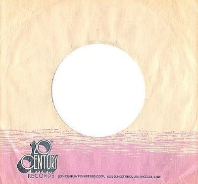 20th Century / White, Dark Blue, Pink (Record Company Sleeve, 7