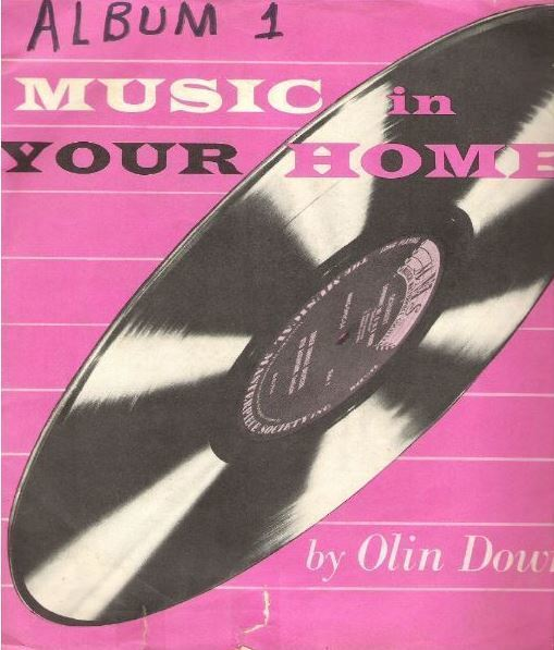 "Various Artists / Music In Your Home (1954) / Musical Masterpiece Society MMS-100 (Album, 10"" Vinyl)"