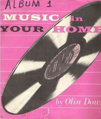 Various Artists / Music In Your Home (1954) / Musical Masterpiece Society MMS-100 (Album, 10