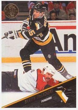 McEachern, Shawn / Pittsburgh Penguins (1993-94) / Leaf #217 (Hockey Card)
